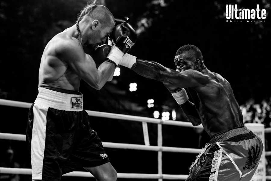 13.8.2016 Boxing Night Savonlinna: Nourdeen Toure vs Bogdan Mitic